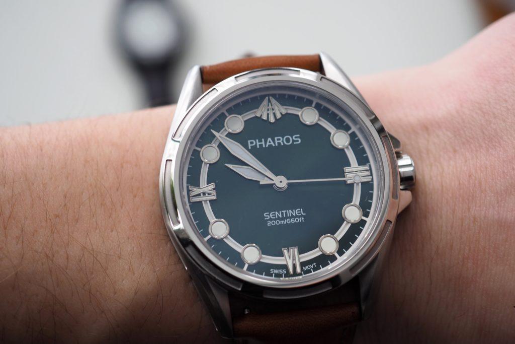 sentinel on the wrist