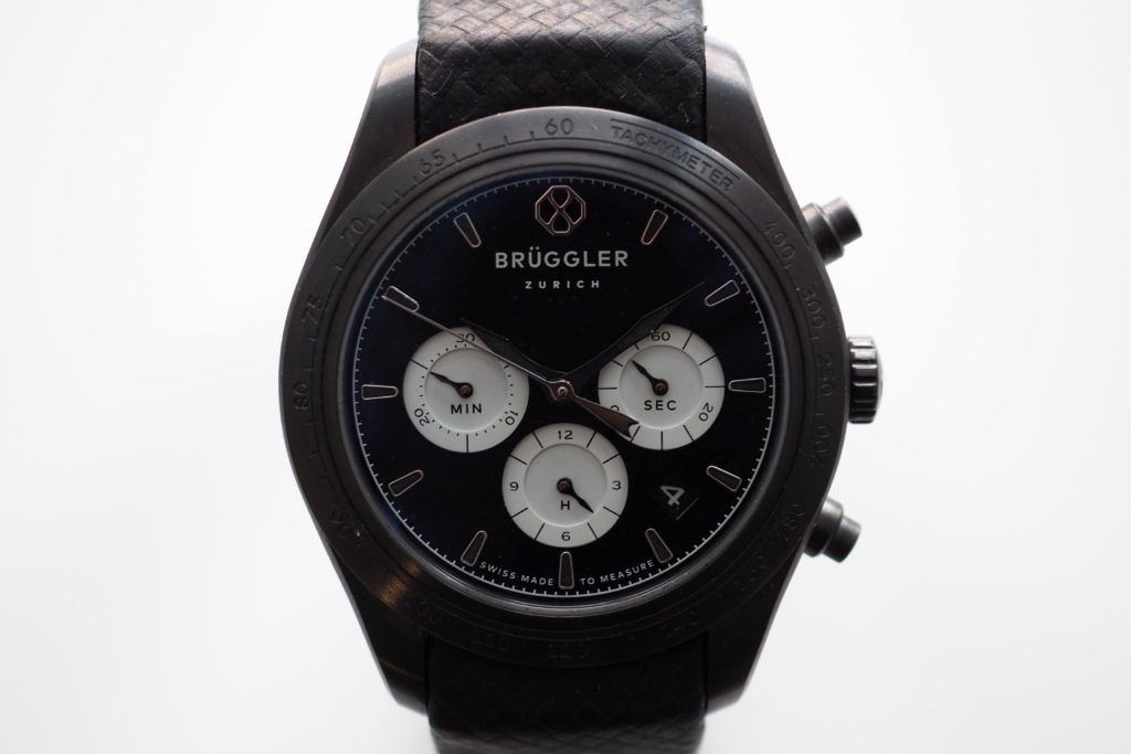 Bruggler Bespoke Automatic Chronograph Watch Review