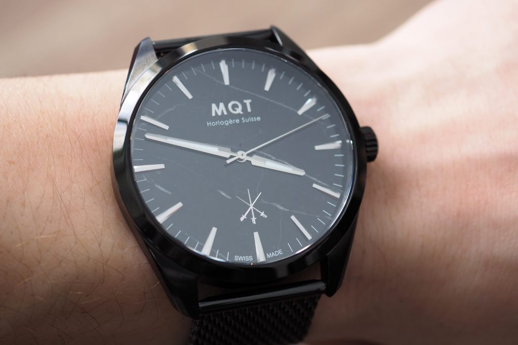 MQT Gent II on The Wrist