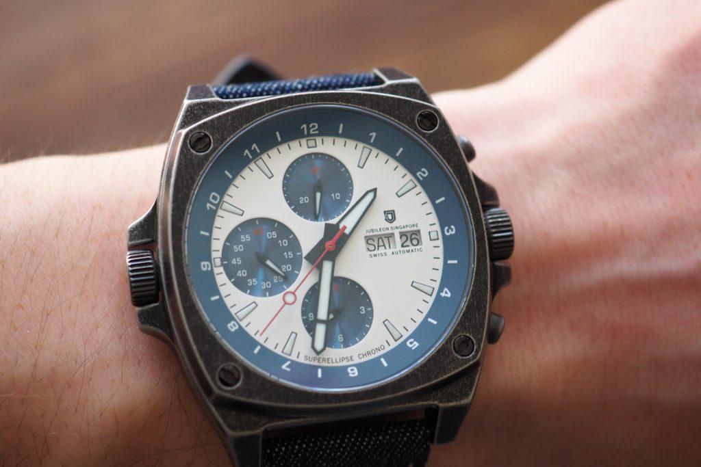 Superellipse on the wrist