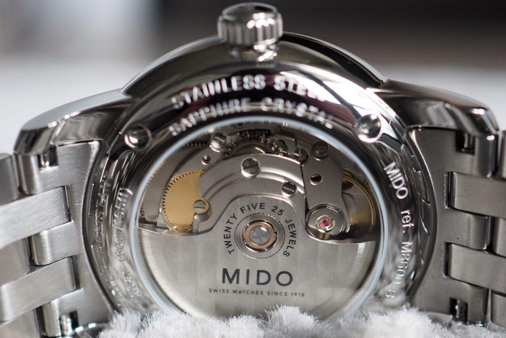 Mido Caliber 80 Movement