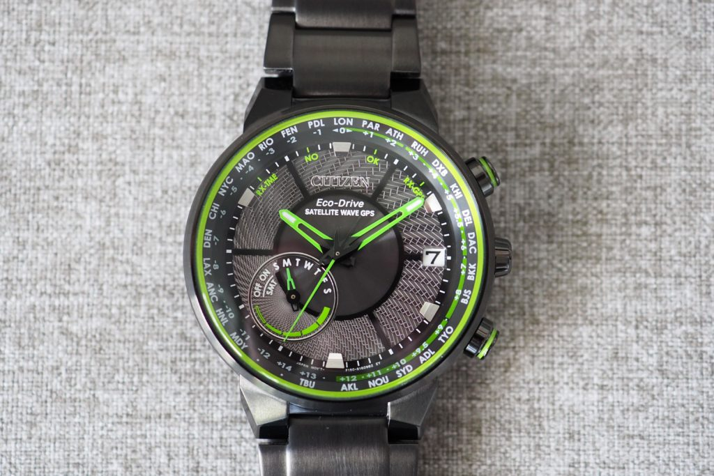 Citizen Satellite Wave GPS Freedom CC3035-50E Watch Review