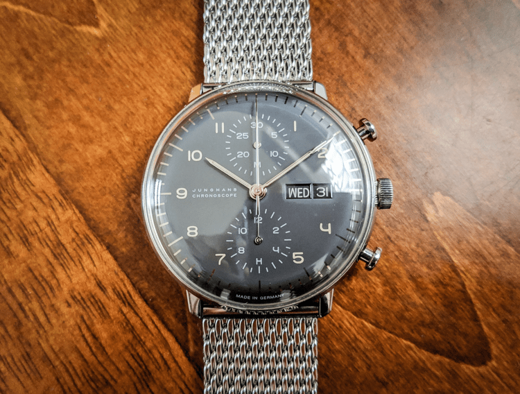 Junghans Max Bill Chronoscope Watch Review