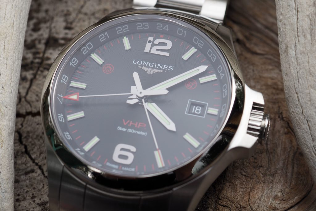 Clear dial photo of Conquest