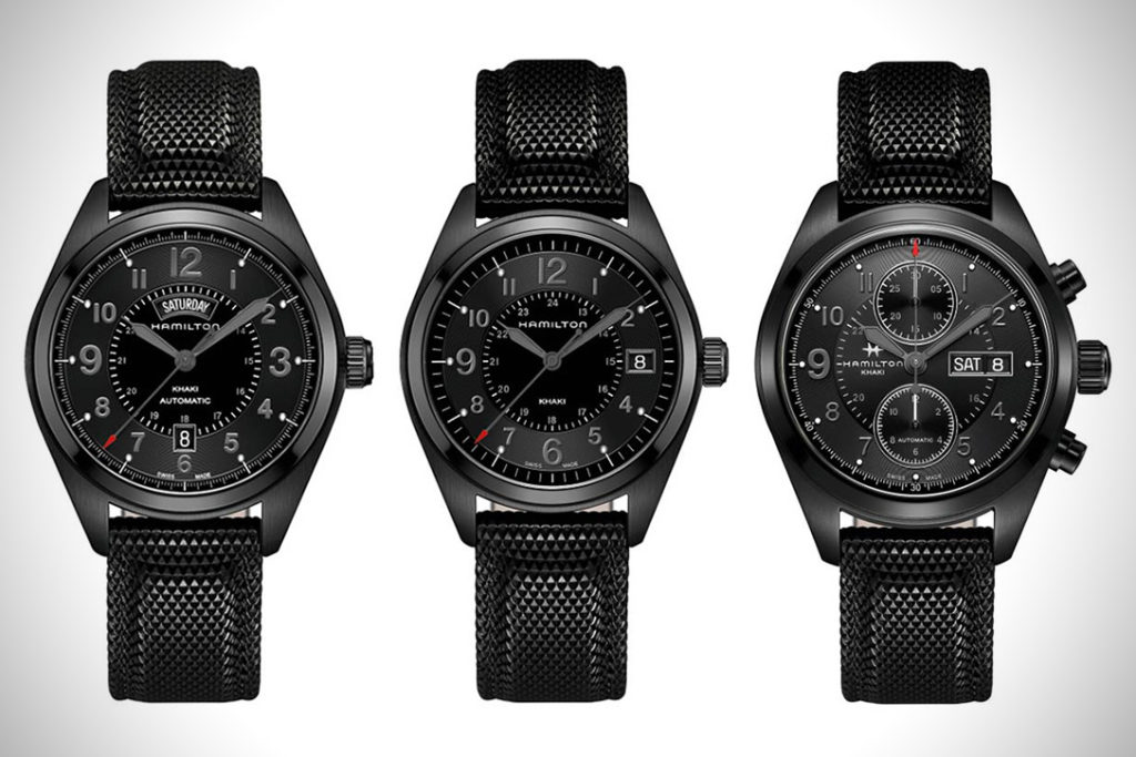 Affordable Watches With Black Coating