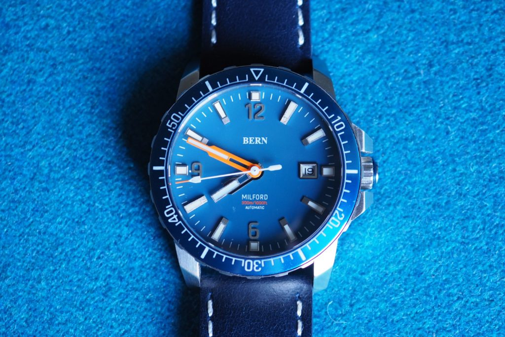 Featured spread photo of Bern watch