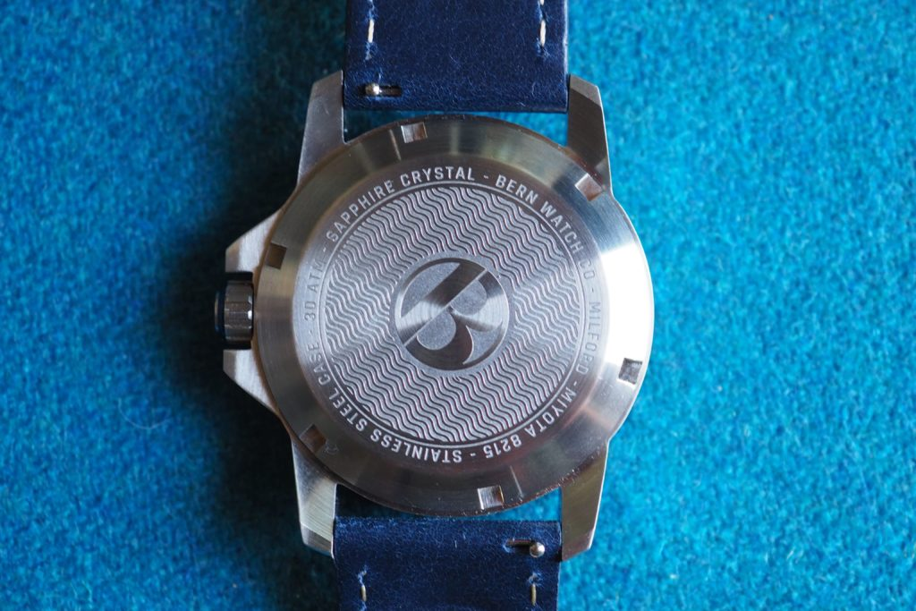 Movement and caseback