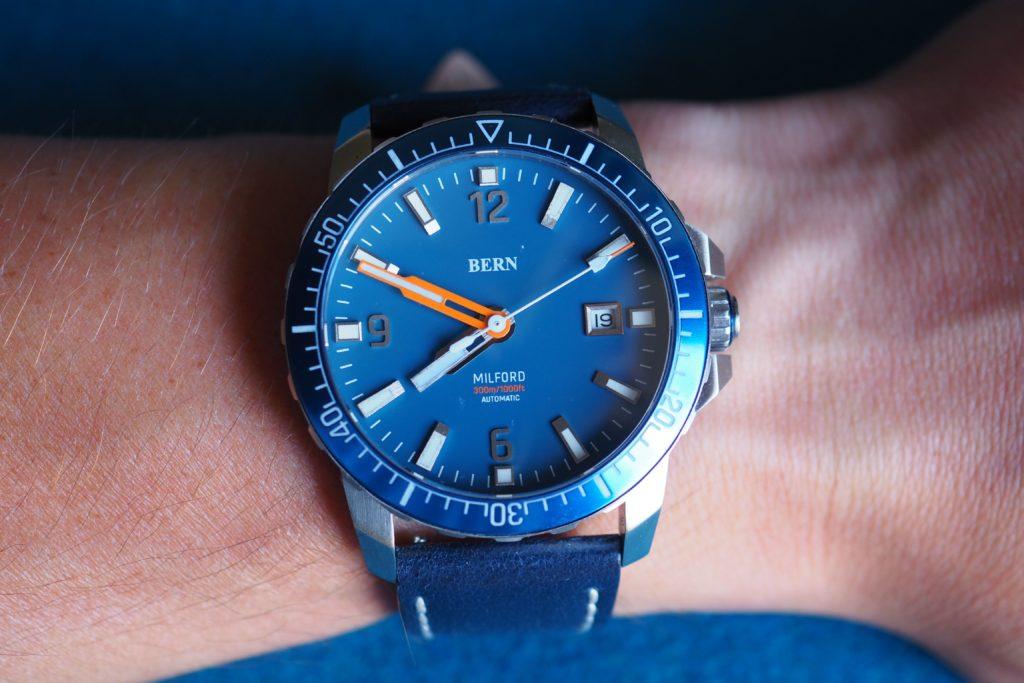 Bern on the wrist