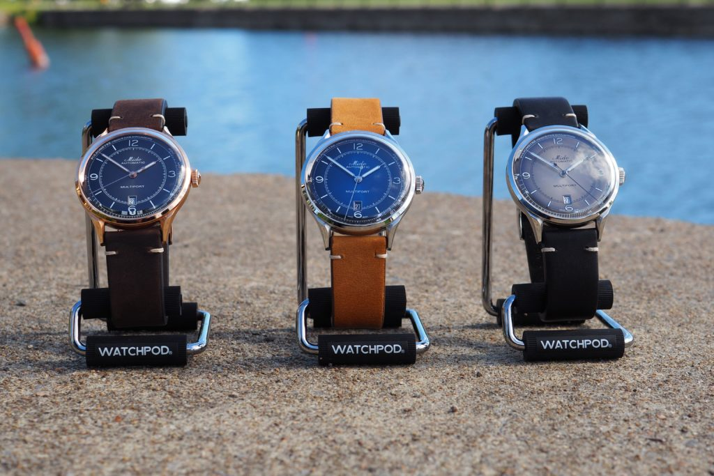Watches on WATCHPOD display stand holders
