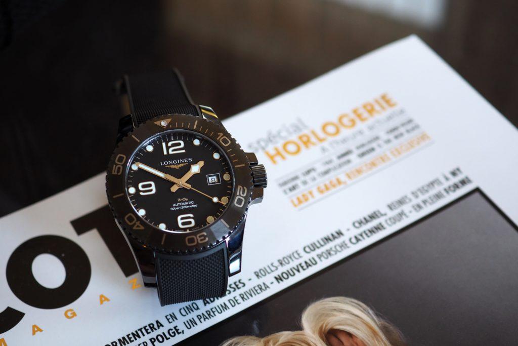 Longines Hydroconquest Ceramic ZrO2 Watch Review