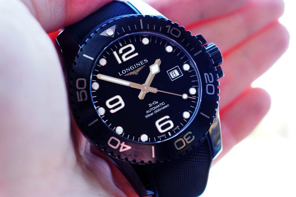 Diver dial close up