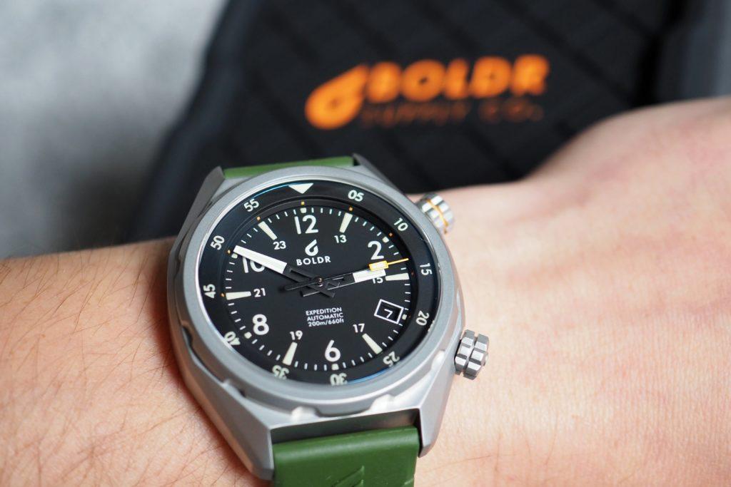 Boldr Expedition wrist shot