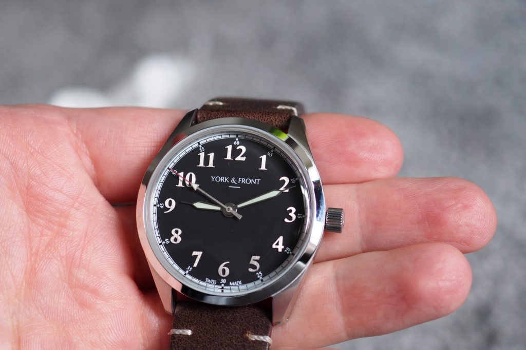 watch in hand