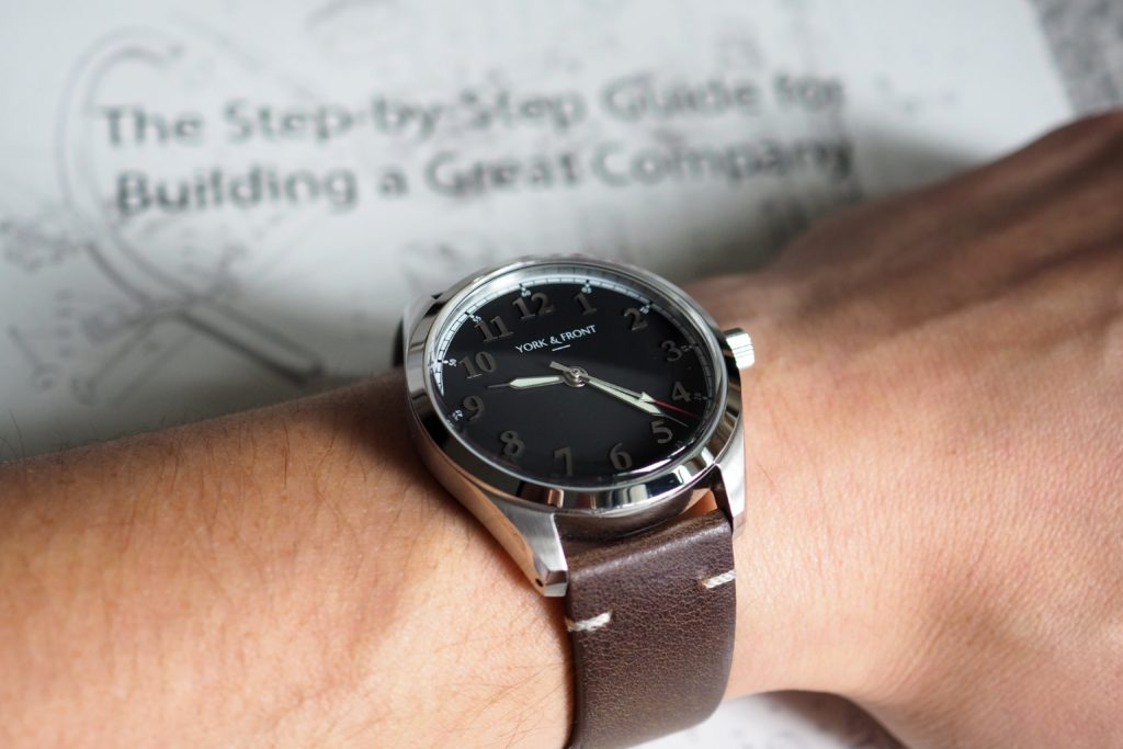 Wrist shot photo of watch