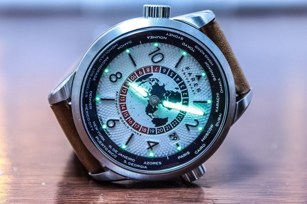 Farer Markham World Timer Watch Review