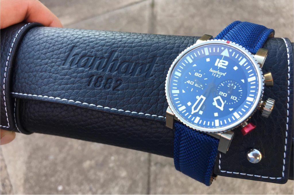 Hanhart Primus Nautic Pilot Bronze Watch Review