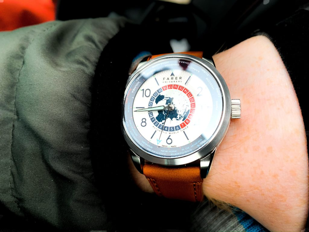 World Timer on the wrist