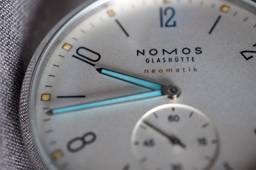 Nomos Neomatik with Painted Indices