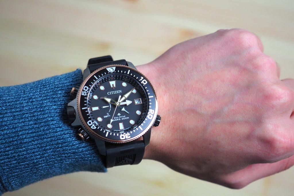 Aqualand on the wrist