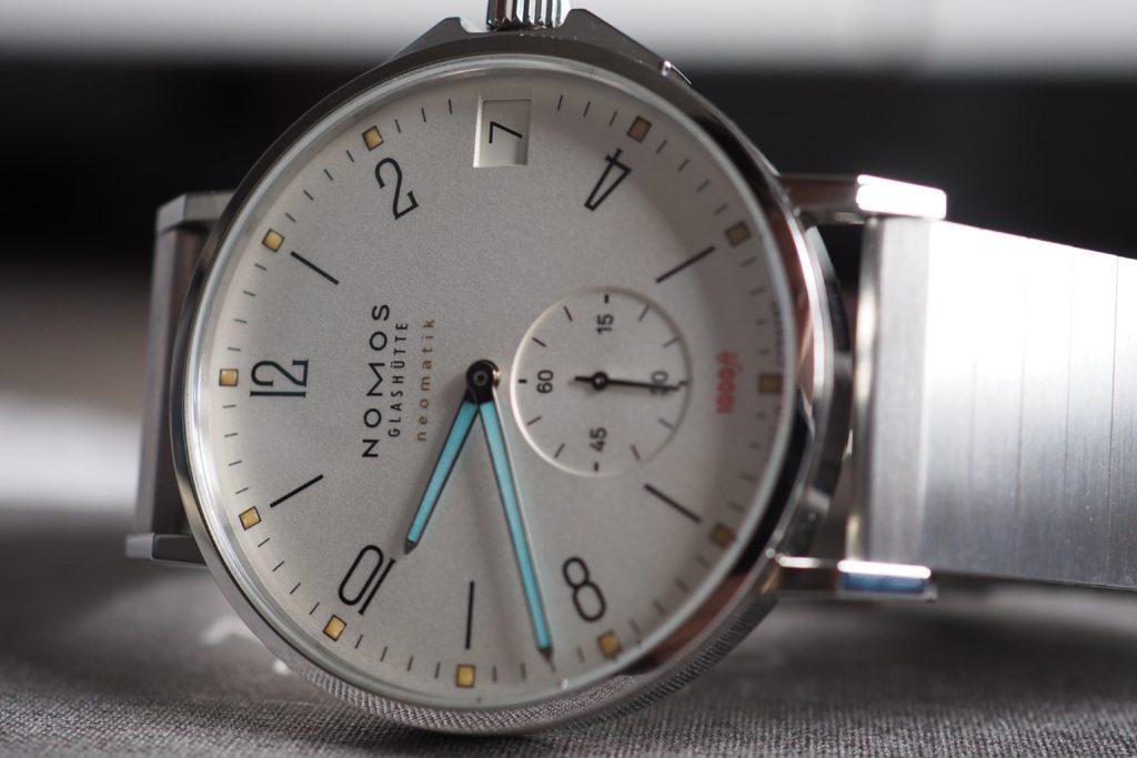 side angle of watch