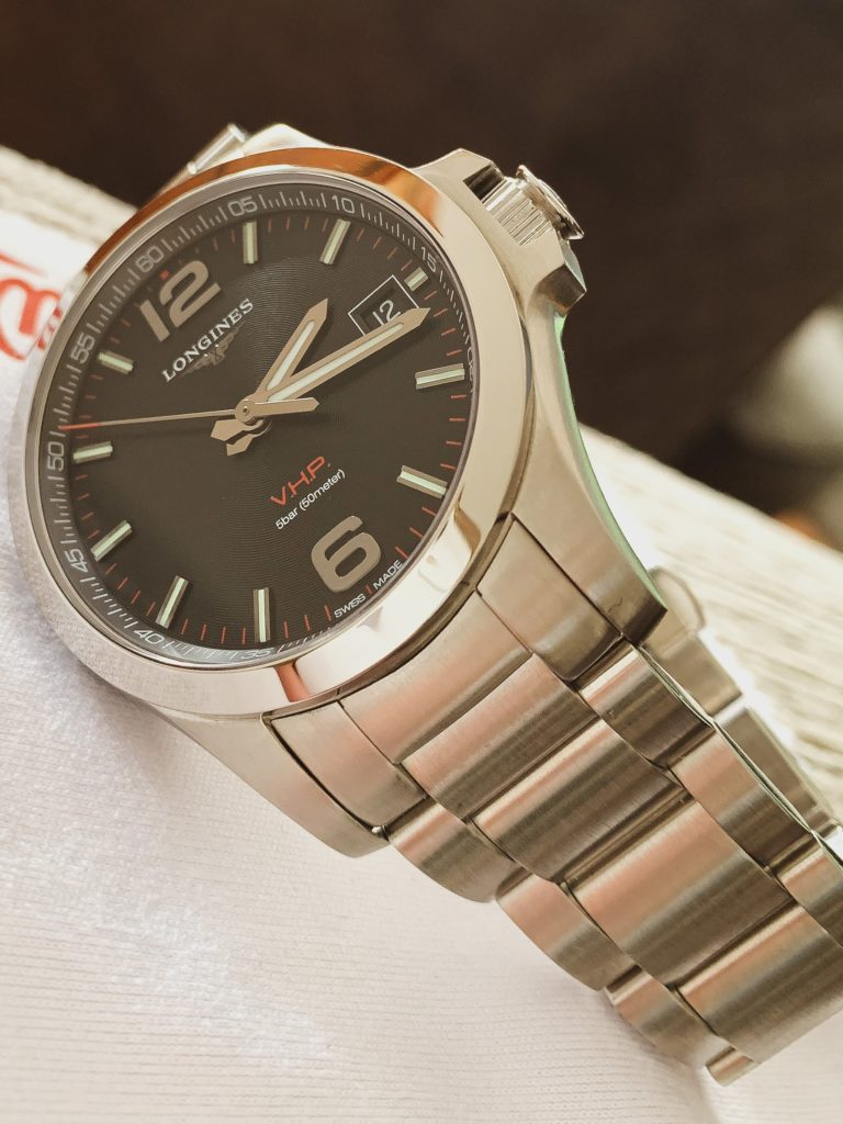 Longines Conquest strap
