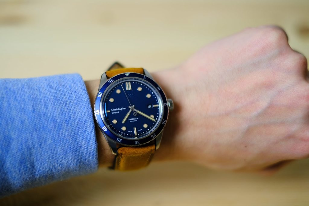 Wrist shot with watch