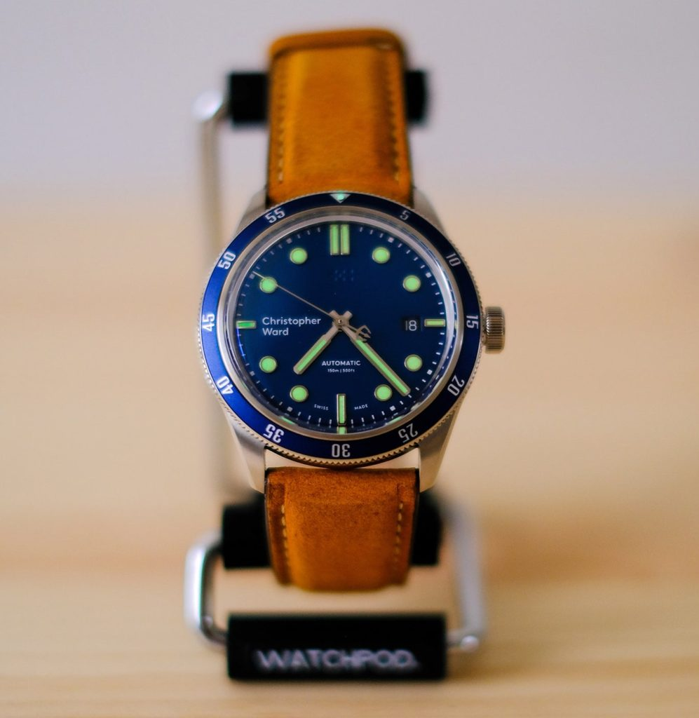 Watch on the WATCHPOD Display Stand
