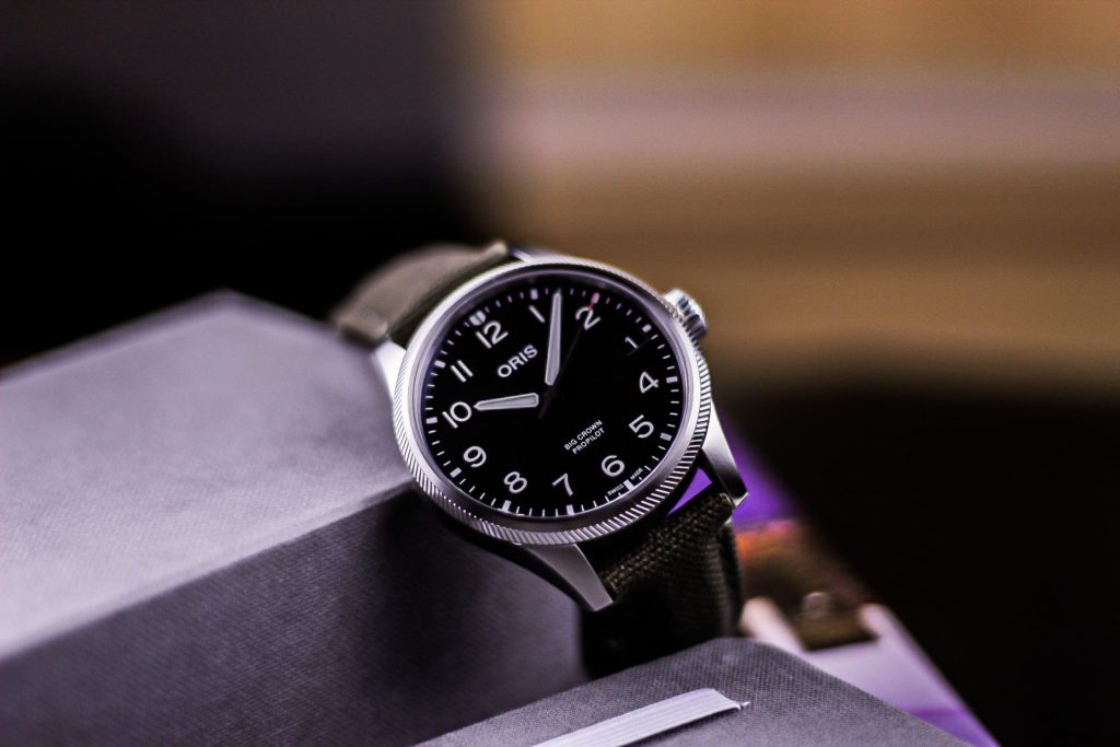 Professional photo of propilot watch