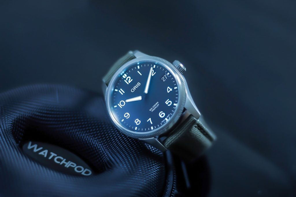 Oris ProPilot with WATCHPOD travel case