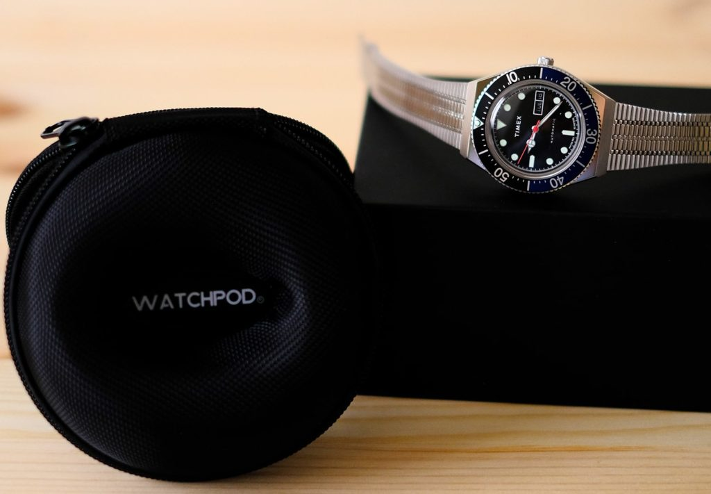 Timex M79 with WATCHPOD Travel Case