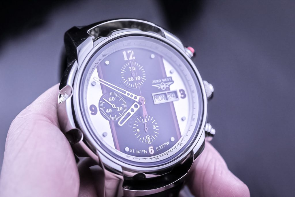 Watch in the hand