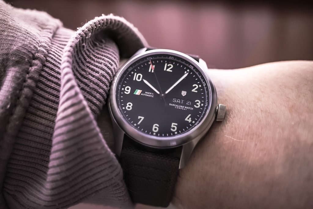 Mach 1 Civilian on wrist