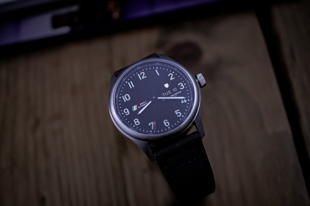Photo of full watch and strap
