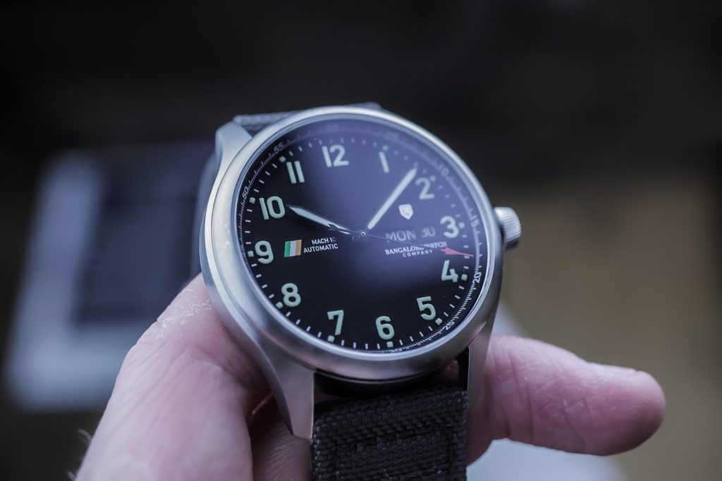 Bangalore Watch Company Mach 1 Civilian Watch Review