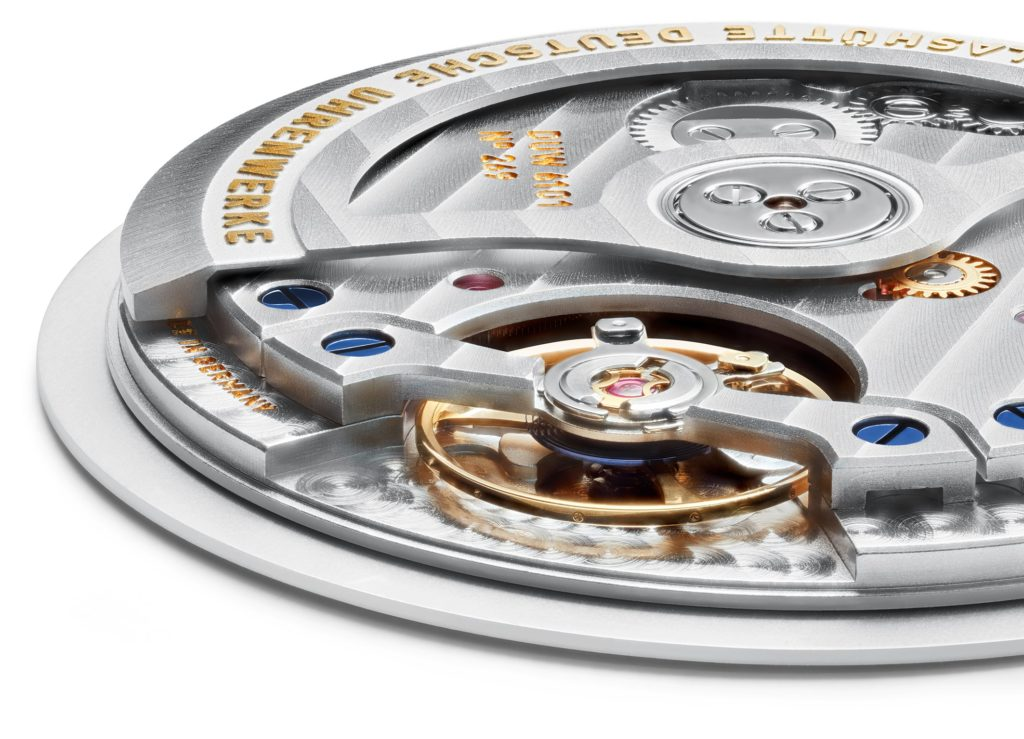 DUW line of watch movements