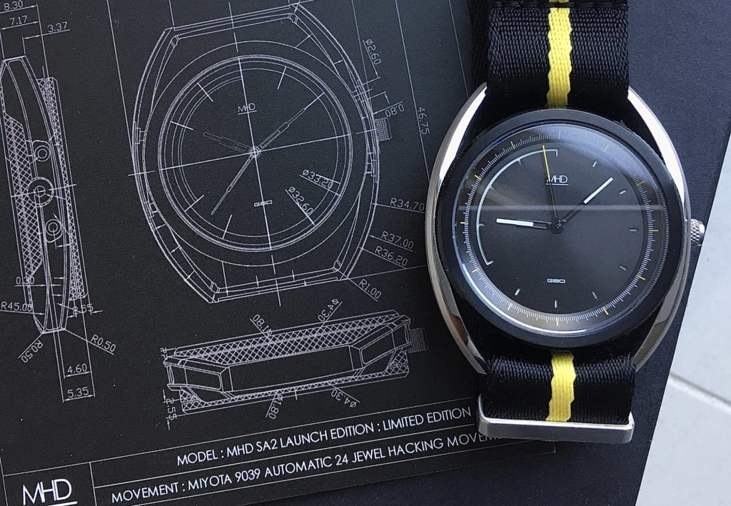 MHD SA2 Launch Edition Watch Review