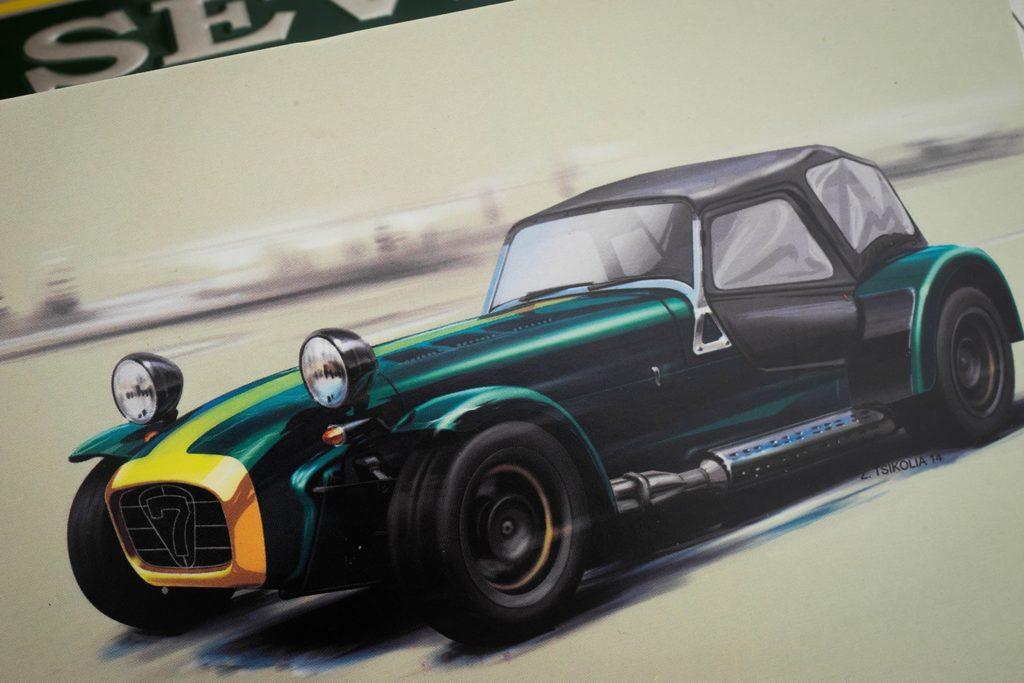 Caterham 7 sports car