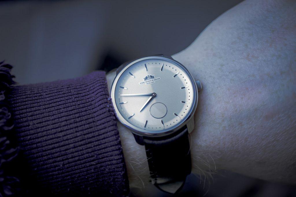 Carl Suchy Watch on wrist