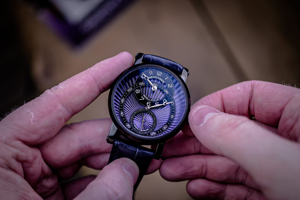 Benzinger Regulator Blueblack Watch Review