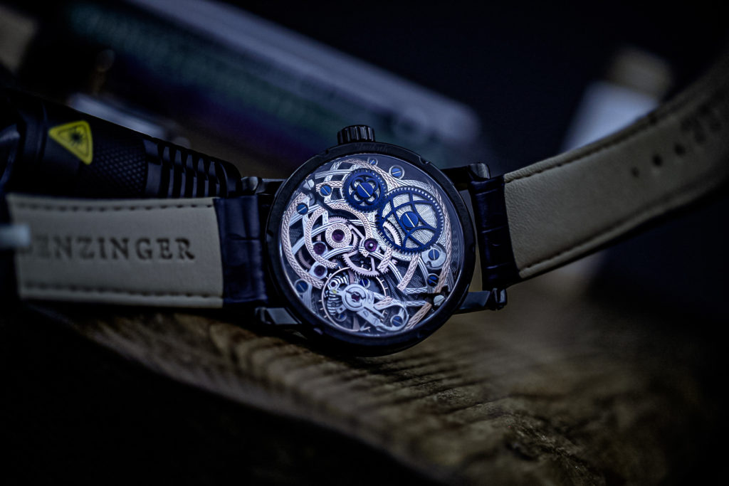 Benzinger skeletonised ETA movement