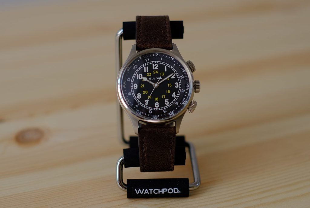 Bulova A-15 on WATCHPOD Display Stand