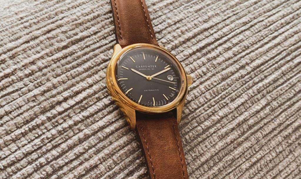 Vintage leather strap