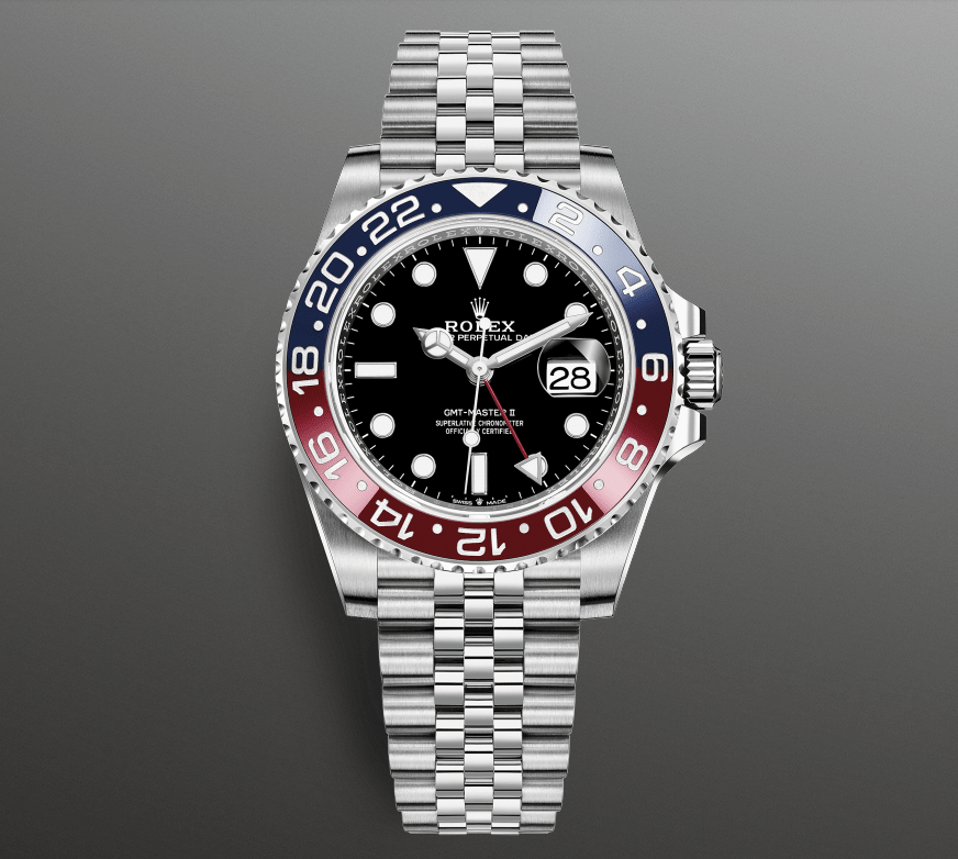 The Rolex GMT Master II Pepsi Ceramic