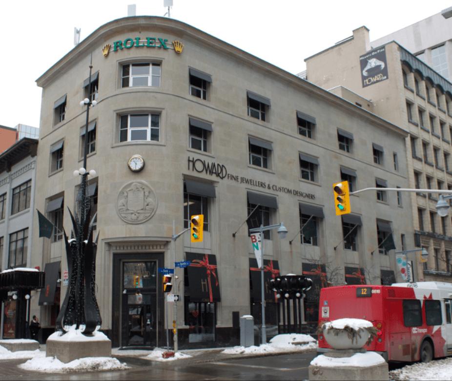 Howard Fine Jewellers in Ottawa