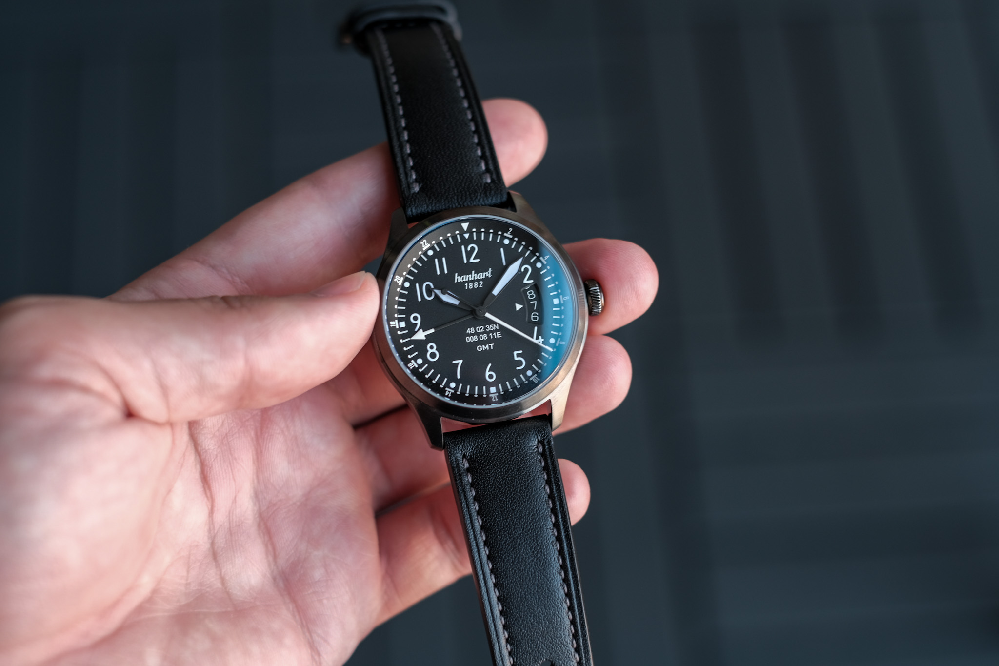 Hanhart S-Series S 105 OE GMT Watch Review
