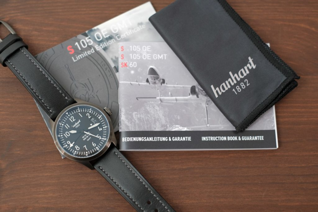 Watch and accessories