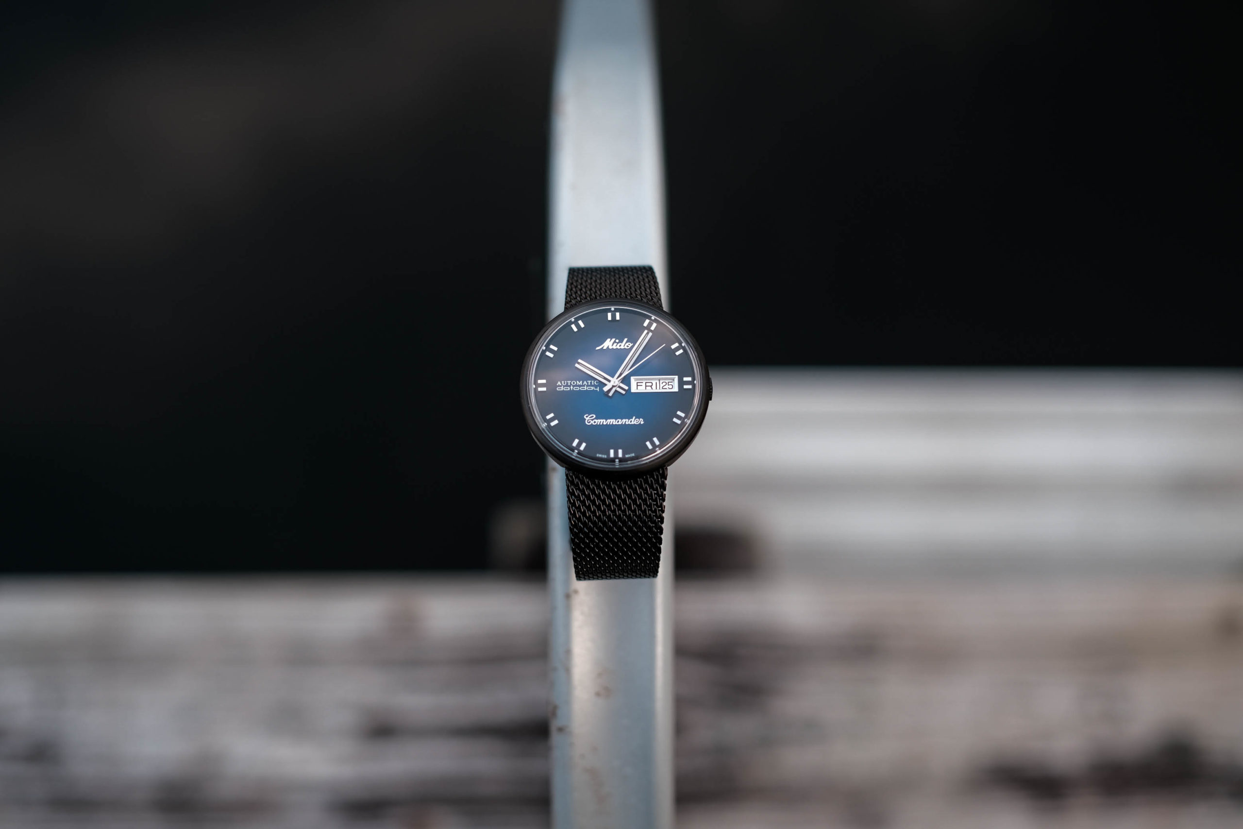 Mido Commander Blue Shade Watch Review