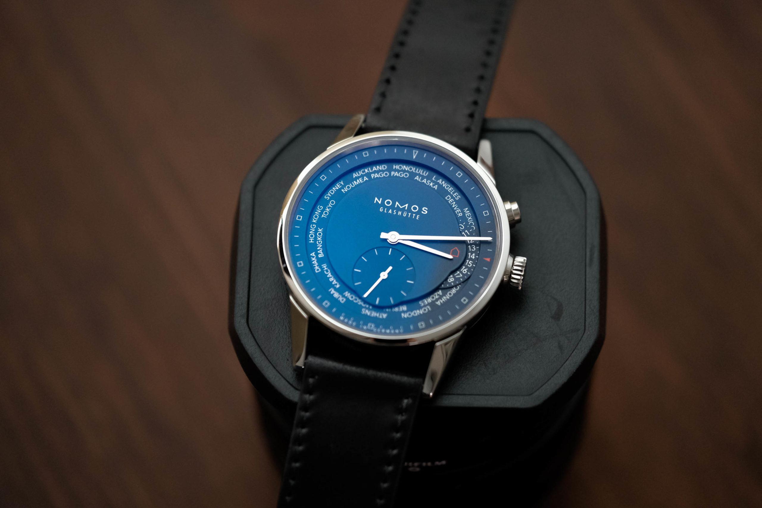 Nomos Zürich World Time Midnight Blue Watch Review
