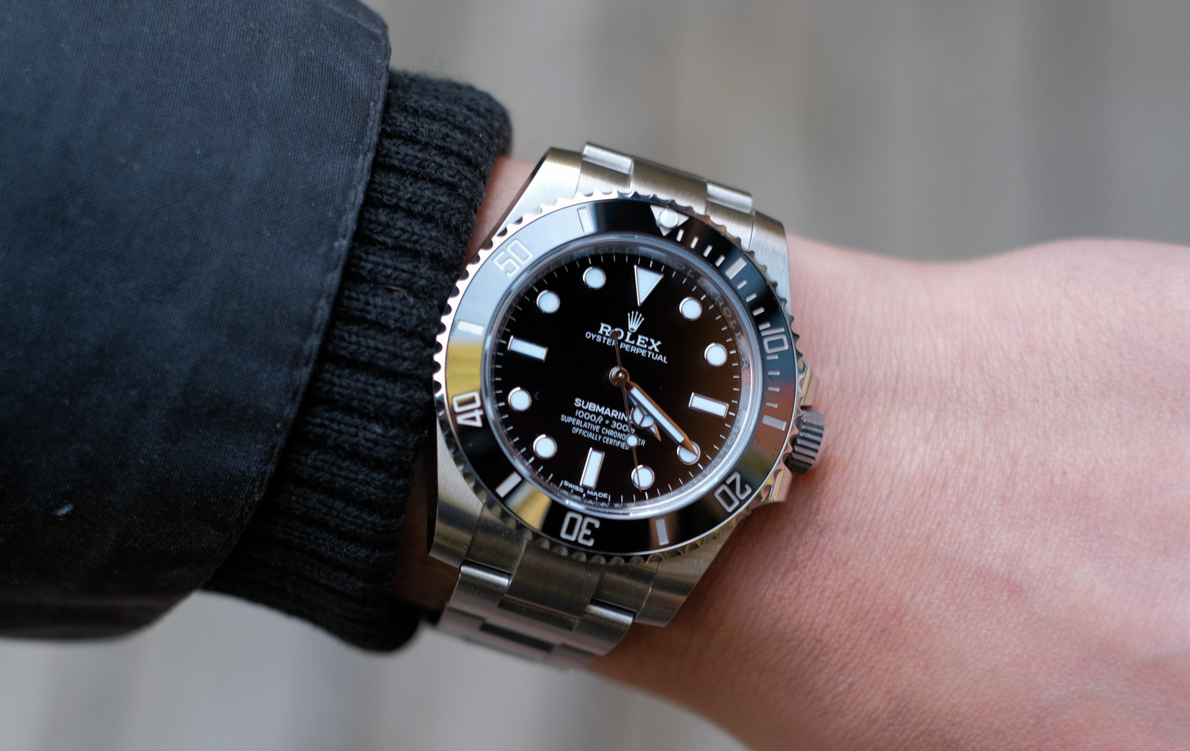 Rolex Submariner 124060 VS 114060 Sizing