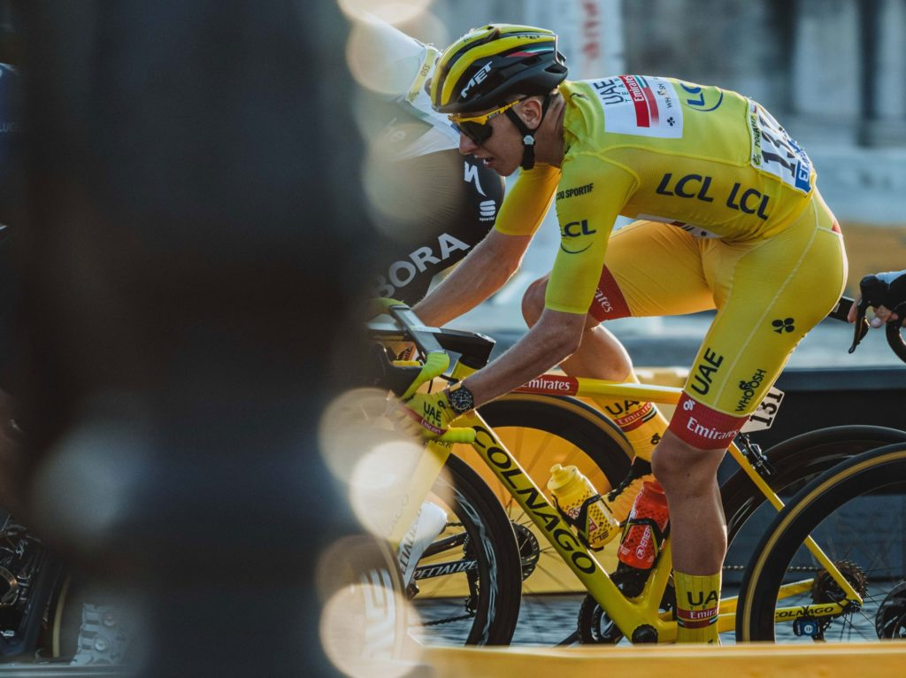 Tadej Pogacar Wins Tour de France With Breitling Endurance Pro